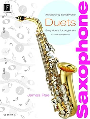 9783702430795: Introducing Saxophone - Duets: Easy duets for beginners. für 2 Saxophone (S/A/T). Partitur und Stimmen