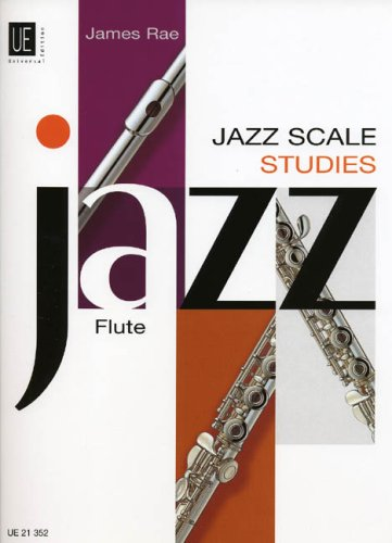9783702431143: Jazz Scale Studies for Flute