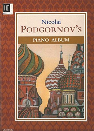 9783702433291: Nicolai Podgornov's Piano Album: 31 leichte bis mittelschwere Stücke. für Klavier
