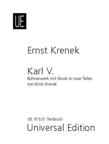 Karl V.: Krenek, Ernst