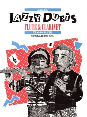 9783702455057: Jazzy Duets Flute and Clarinet: UE19396