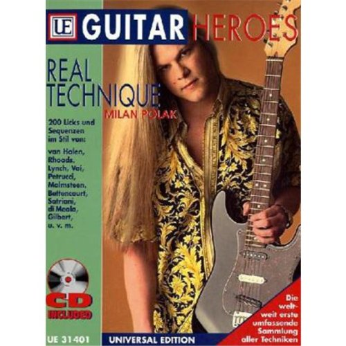 9783702462376: Guitar Heroes - Real Technique, m. Audio-CD