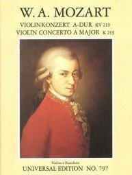 9783702464158: Violinkonzert Nr. 5 in A-Dur, KV 219 (Violin Concerto No. 5 in A Major, KV 219)