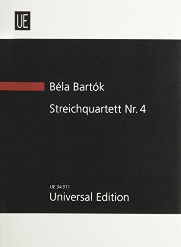 Bela Bartok Streichquartett Nr.4 (STRING QUARTET NO.: Bartok