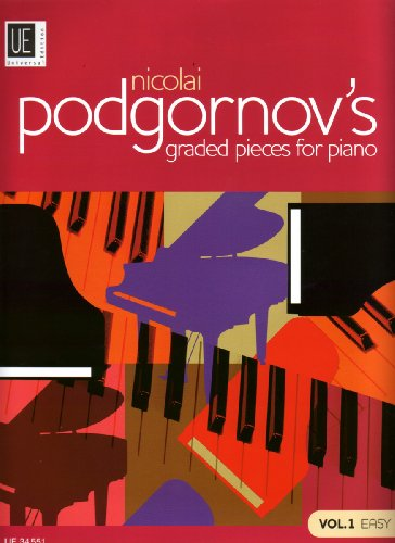 9783702467395: Nicolai Podgornov's Graded Pieces for Piano, Volume 1