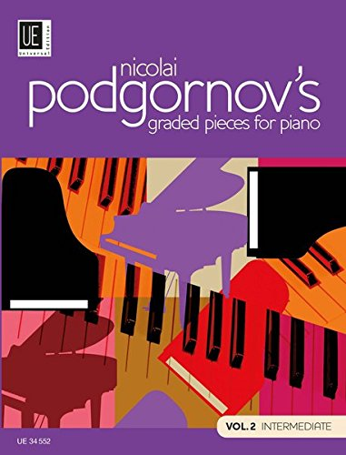 9783702467791: Nicolai Podgornov's Graded Pieces for Piano, Volume 2 Intermediate