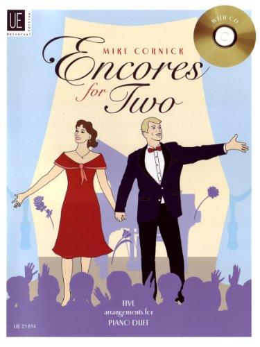 9783702471583: Encores for Two. Five Arrangements for Piano Duet