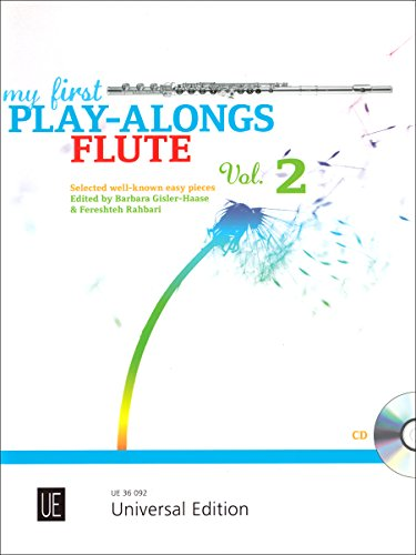 9783702472252: My First Play-alongs Flute: Vol.2