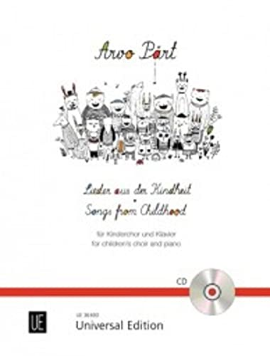 9783702473488: Songs from Childhood: For Children's Choir and Piano
