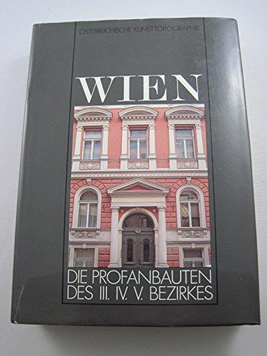 9783703104701: Die Kunstdenkmäler Wiens (Österreichische Kunsttopographie)