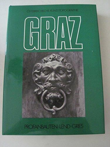 9783703105913: Die Kunstdenkmäler der Stadt Graz (Österreichische Kunsttopographie)