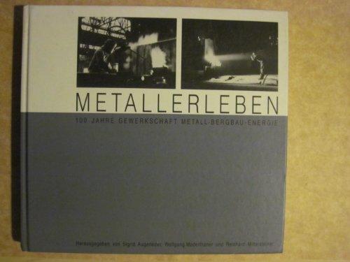 9783703504136: Metallerleben: 100 Jahre Gewerkschaft Metall-Bergbau-Energie