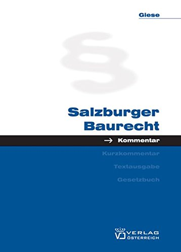 Salzburger Baurecht: Karim Giese