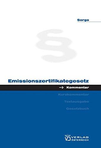 9783704646118: Emissionszertifikategesetz