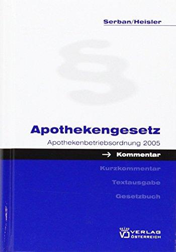 Apothekengesetz: Hans Serban