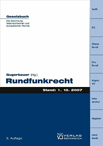 Rundfunkrecht: Norbert Gugerbauer