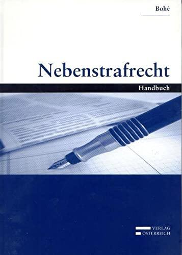 9783704654243: Nebenstrafrecht: Handbuch