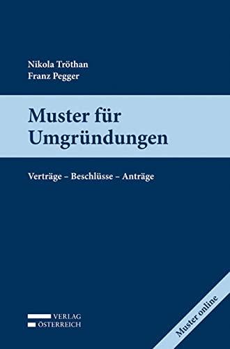 Muster für Umgründungen: Nikola Tröthan