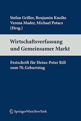 9783704658661: Wirtschaftsverfassung und Binnenmarkt