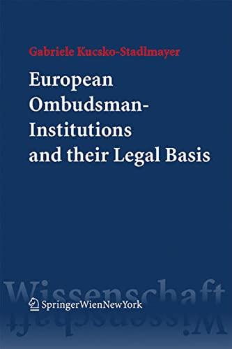 European Ombudsman-Institutions: Gabriele Kucsko-Stadlmayer