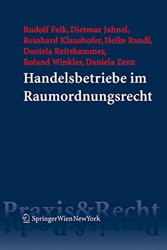 Handelsbetriebe im Raumordnungsrecht: Rudolf Feik