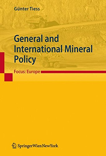 General and International Mineral Policy: Günter Tiess