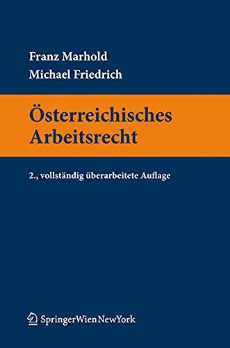 9783704661395: Österreichisches Arbeitsrecht