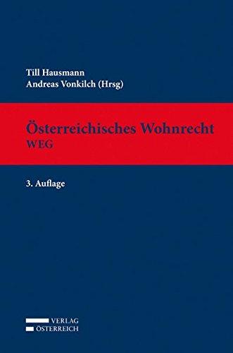 Österreichisches Wohnrecht. WEG: Till Hausmann
