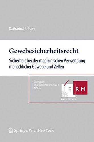 Gewebesicherheitsrecht: Katharina Polster