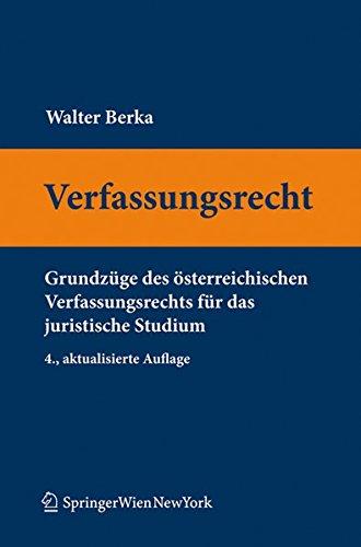 9783704662439: Verfassungsrecht