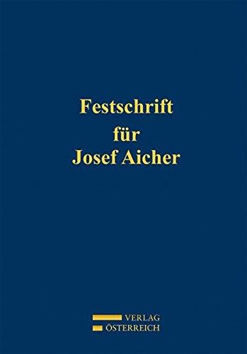Festschrift für Josef Aicher: Florian Schuhmacher