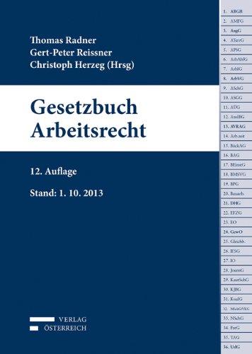 9783704665409: Gesetzbuch Arbeitsrecht