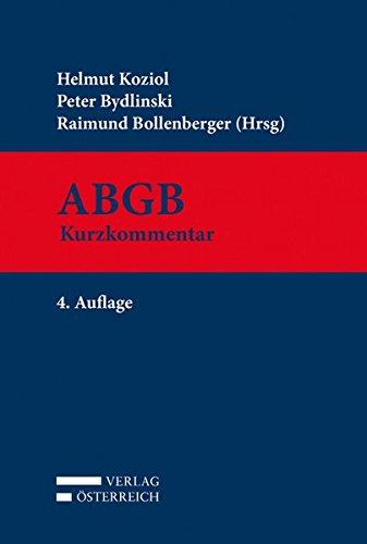 ABGB: Helmut Koziol