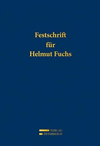 Festschrift für Helmut Fuchs: Susanne Reindl-Krauskopf
