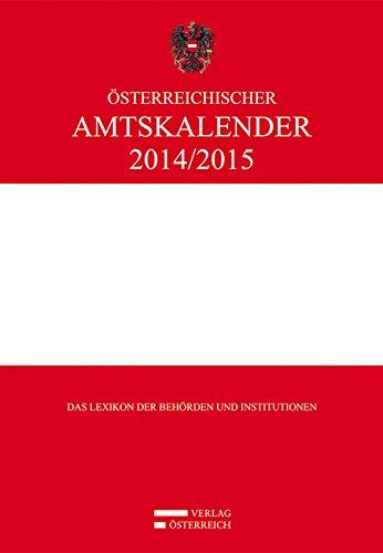 Österreichischer Amtskalender 2014/2015