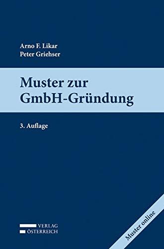 Muster zur GmbH-Gründung: Peter Griehser