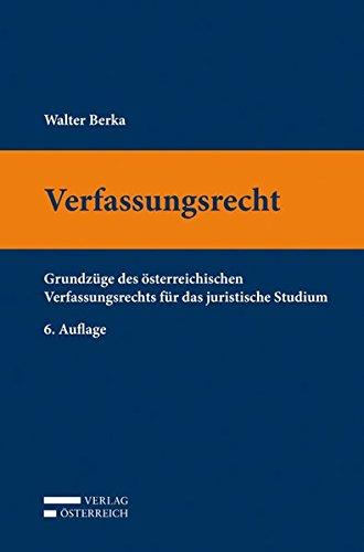 Verfassungsrecht: Walter Berka