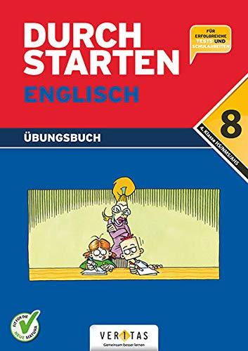 9783705868458: Durchstarten in Englisch. Für die 8. Schulstufe. Dein Übungsbuch