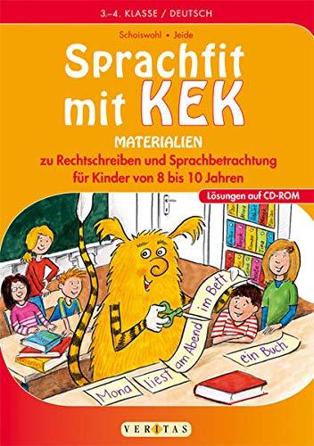 Sprachfit mit Kek. Kopiervorlagen: Christiane Jeide
