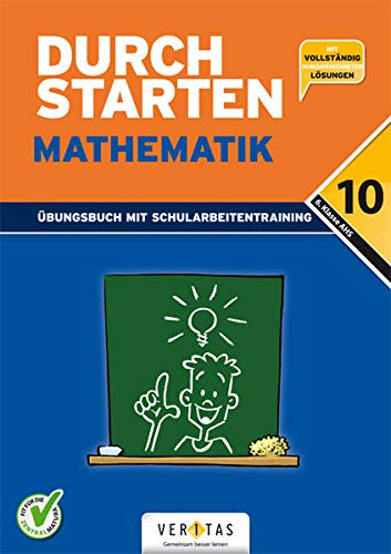9783705882898: Durchstarten. AHS Mathematik 6. Klasse. �bungsbuch mit L�sungen