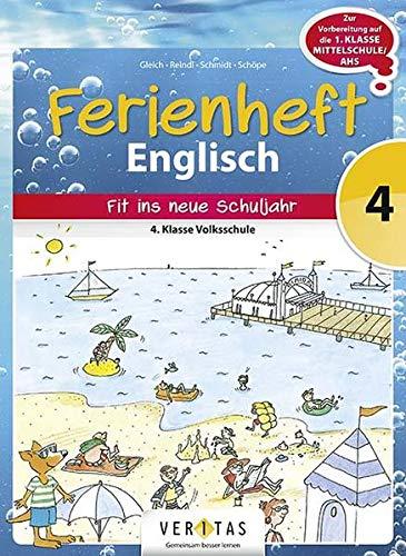9783705891388: Ferienhefte Englisch 4. Klasse - Englisch 4: Ferienheft Volksschule
