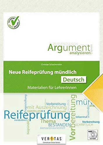 9783705893566: Neue Reifepr�fung m�ndlich. Deutsch: Materialien f�r LehrerInnen