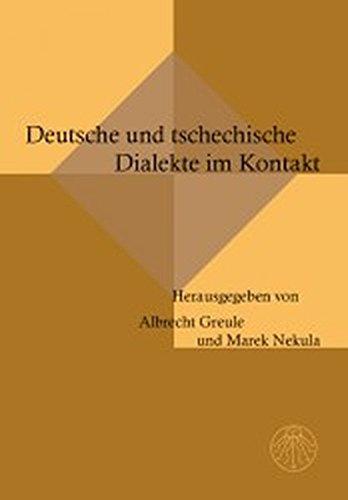 9783706902007: Deutsche und tschechische Dialekte im Kontakt