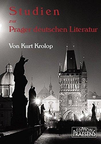 9783706903073: Studien zur Prager deutschen Literatur
