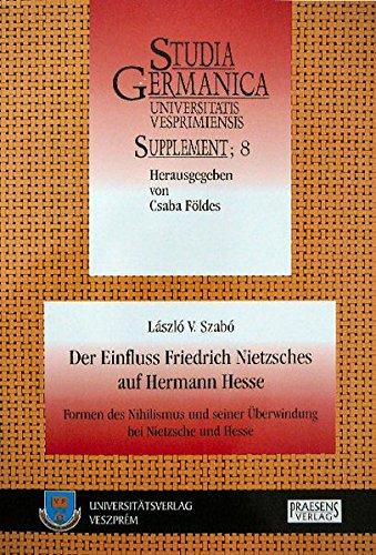 9783706904438: Der Einfluss Friedrich Nietzsches auf Hermann Hesse