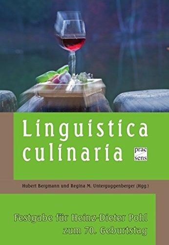 Linguistica Culinarica: Hubert Bergmann
