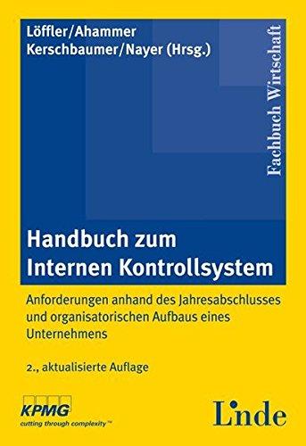 9783707306989: Handbuch zum Internen Kontrollsystem