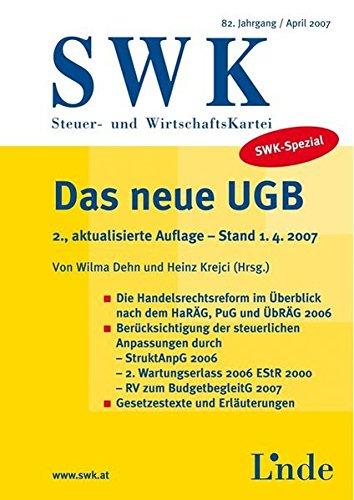 SWK | Steuer- und WirtschaftsKartei: Dehn, Wilma, Krejci, Heinz