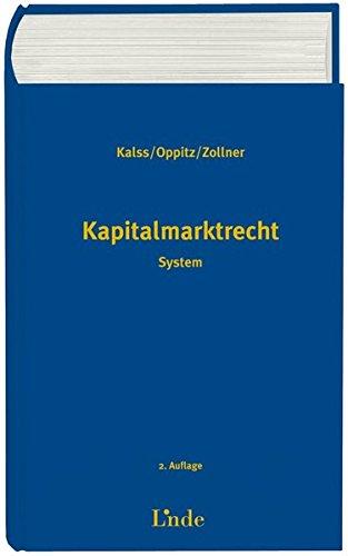 9783707315110: Kapitalmarktrecht (f. �sterreich)