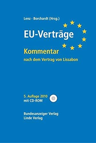 9783707316841: EU-Vertrage, Kommentar, m. CD-ROM